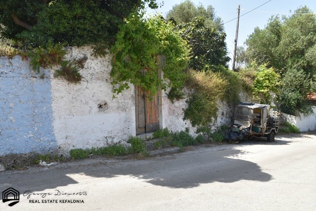 Land For Sale With Pre-earthquake Residence In Assos
