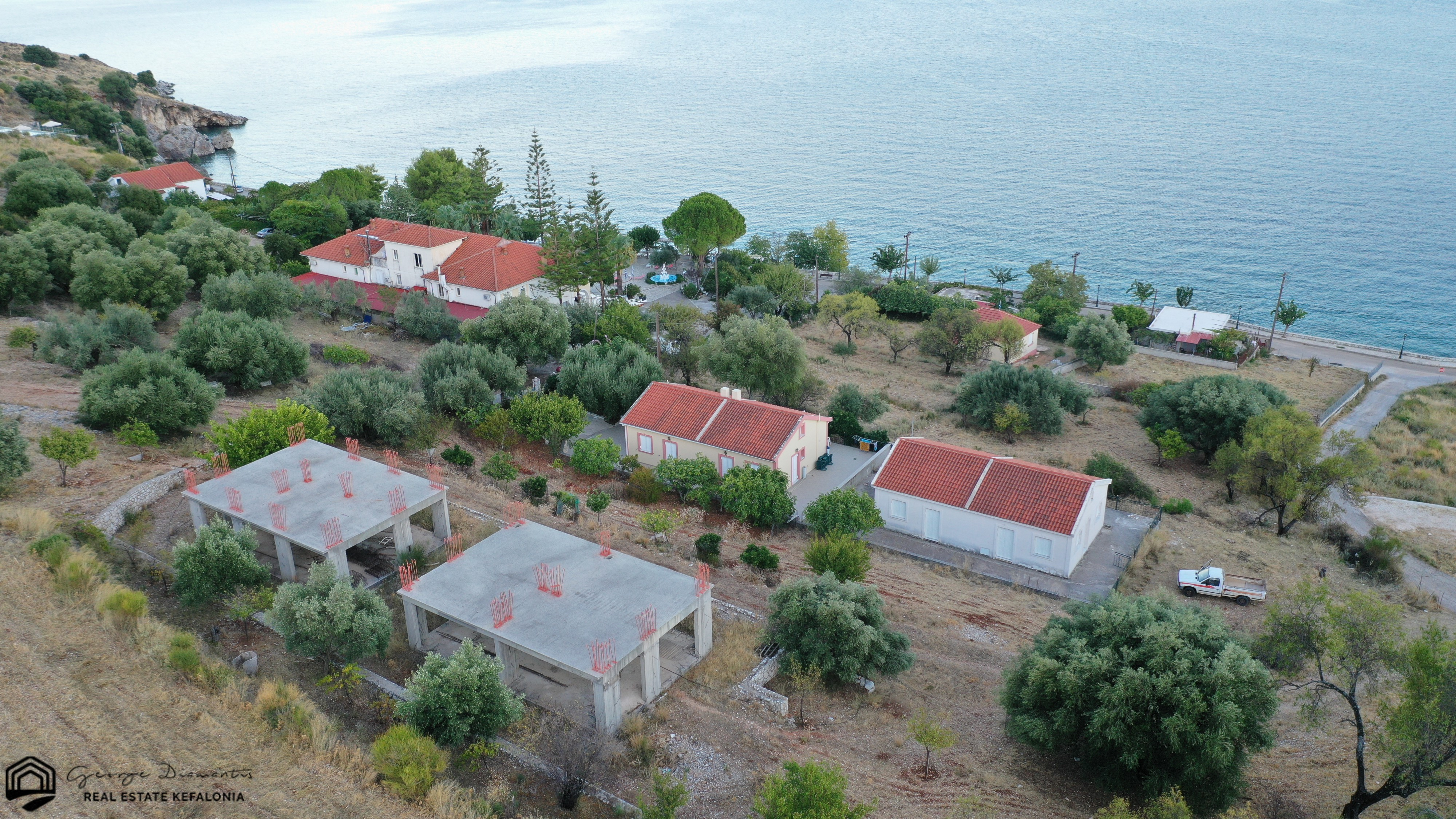 Two Incomplete Buildings For Sale In Agia Efimia