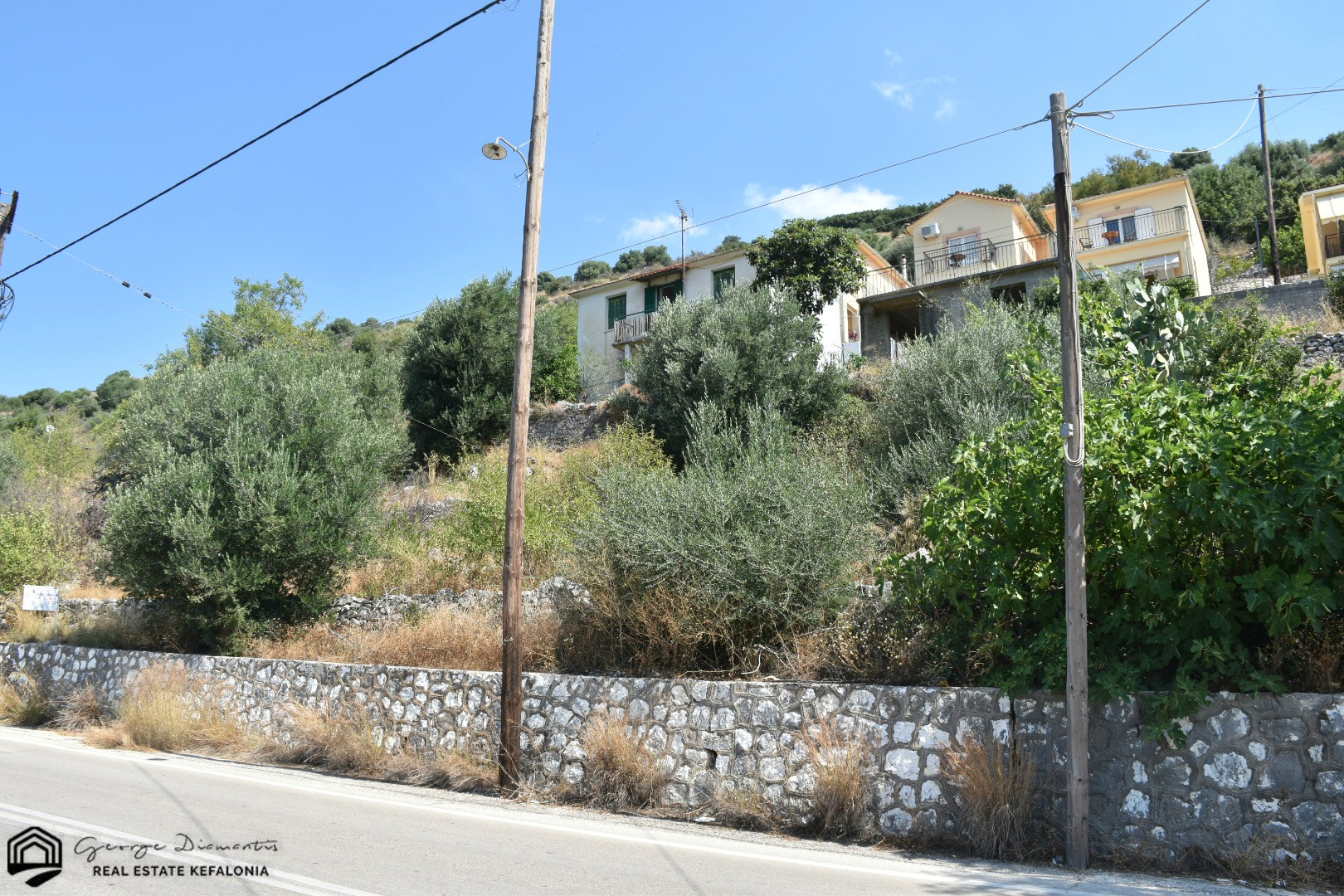 Land For Sale With Buildings In Agia Efimia