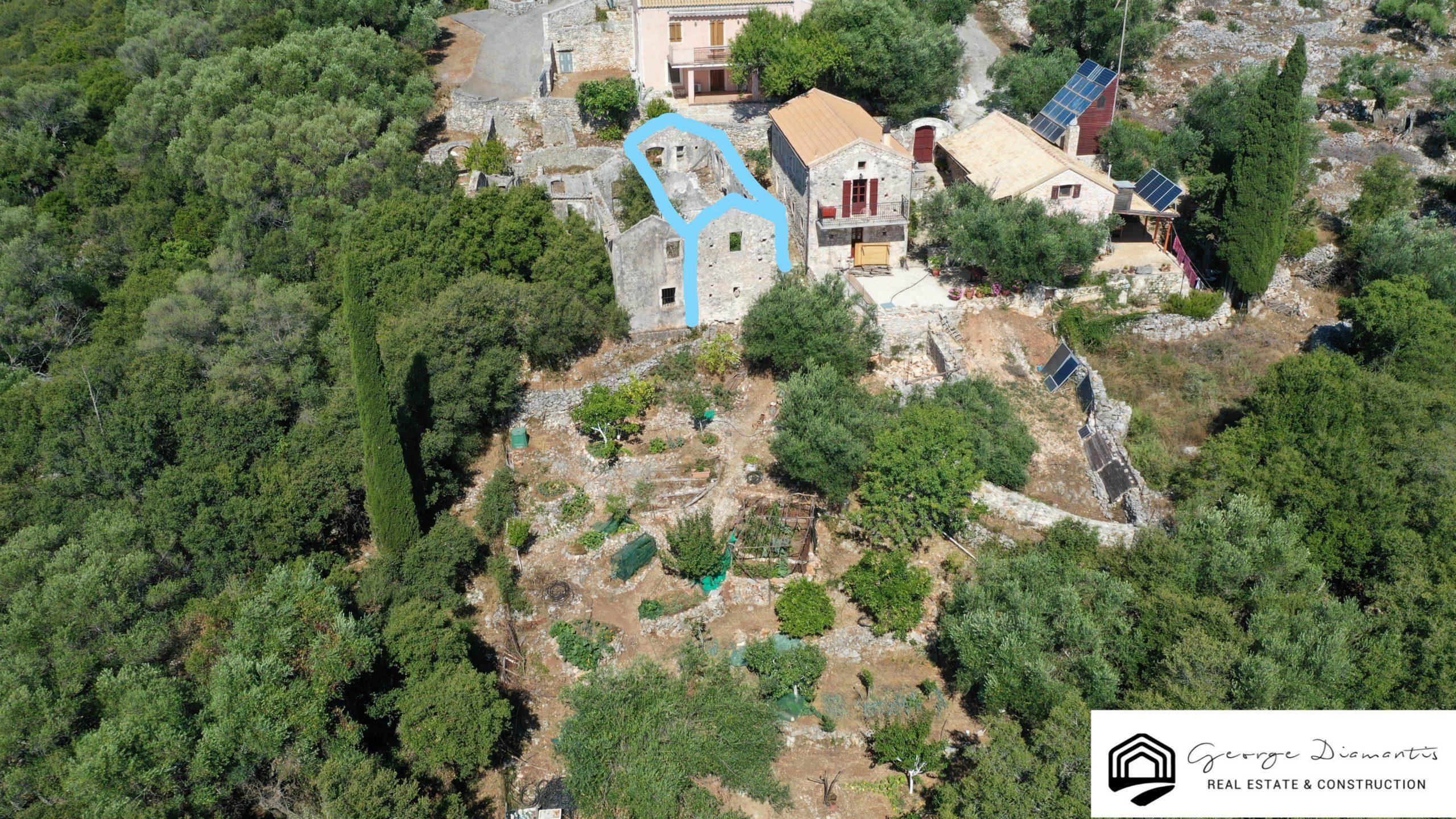 Pre-earthquake House For Sale In Mparzoukata