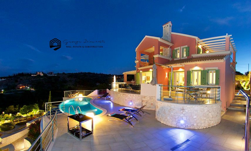 Luxury Villa For Sale In Katsarata