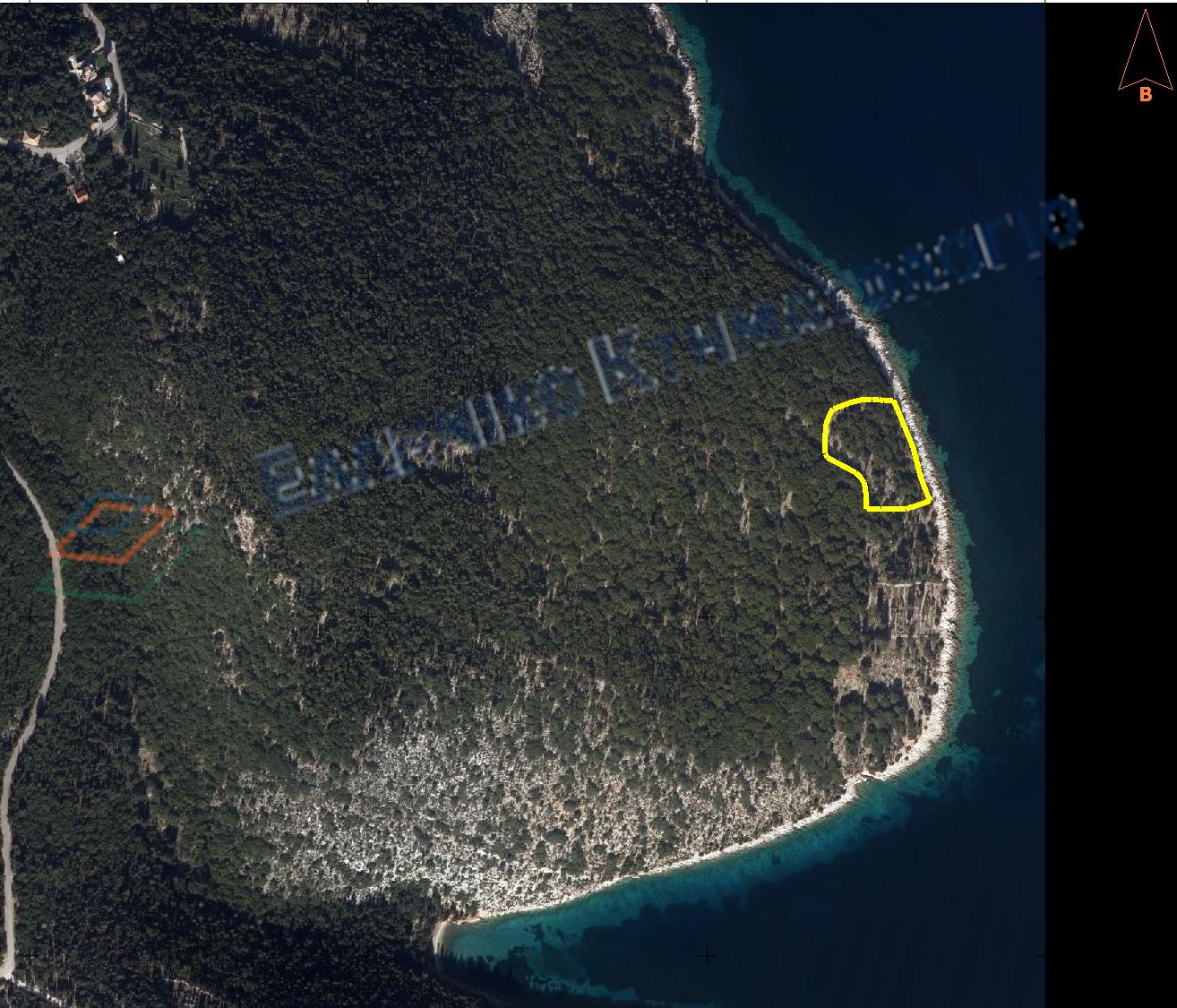Seaside Land Plot For Sale In Tselentata Erisou.