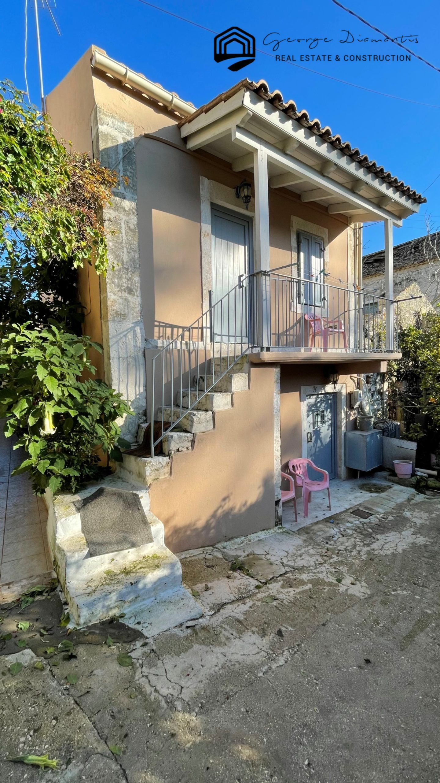 Detached House For Sale In Fiscardo, Erisos.