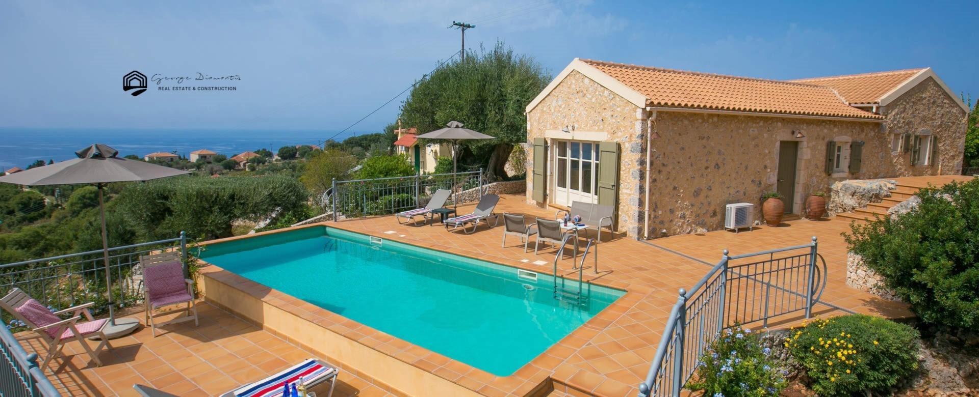 Villa For Sale In Vigli Erisou.